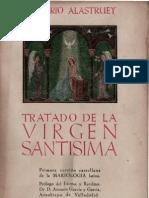 Tratado de la Virgen Santísima- Gregorio Alastruey