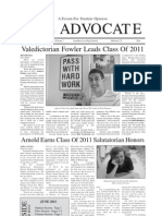 The Advocate - June Issue - Senior Supplement - Section 1 - 8 Pages