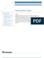 Likewise Enterprise Version 4.0 Administrators Guide