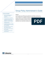 Likewise Enterprise Version 4.0 Group Policy Administrators Guide