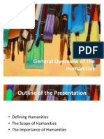 CHAPTER 1 - General Overview of the Humanities