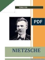 La filosofía de F. Nietzsche