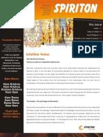 007 Infallible Vedas - Spiriton Newsletter