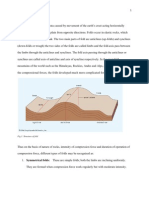 folding and faulting plate tectonics fault geology