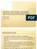 Neural Network Learning Without Backpropagation