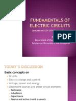 1.0 Fundamentals of Electric Circuits