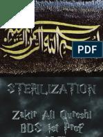 Sterilizaion.. New