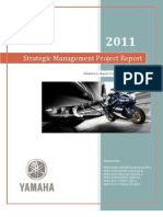 Strategic Management Project Report