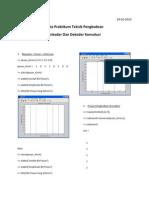 Data Praktikum Teknik Pengkodean