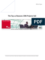Top 10 Reasons Why CRM Fails