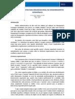 Implicações da Estrutura Organizacional no Desdobramento Estratégico