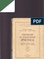 59938718 Tecniche Di Suggestione Ipnotica Milton Erickson