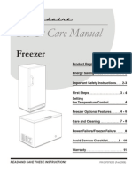 Frigid a Ire 297079200 En Use and Care Manual