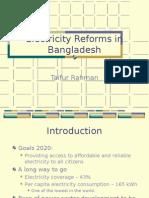 Electricity Reforms Bangladesh