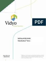 I2 VidyoDesktop Demo Guide 1108