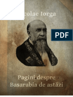 Pagini Despre Basarabia de Astăzi - Nicolae Iorga