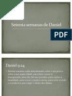 Setenta Semanas de Daniel