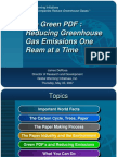 The Green PDF Revolution