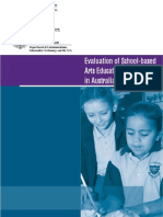 School Based Arts Programmes Evaluation