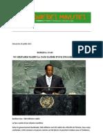 Dimanche 24 juillet 2011  Burkina Faso 566 militaires radiés La face cachée d'une infamie mortifère