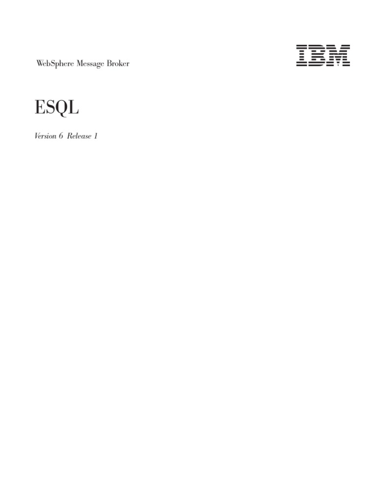 MessagebrokerESQL Subroutine Parameter Computer Programming - Websphere Message Broker Cover Letter