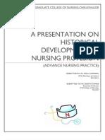 Hstory of Nursing