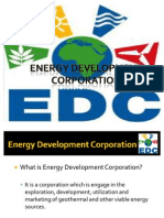 Energy Development Corporation Report