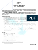 Guía Derecho Laboral, Temas N° 3, 4 y 5