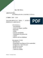 Tema 7 Estructuras de Acero