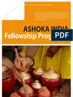 Ashoka India Fellowship Program