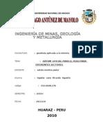 Datum Oficial Para El Peru Para Diferentes Sectores