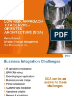Low Risk Approach to SOA