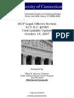 42 U.S. Code §1983 – 2007 Updates
