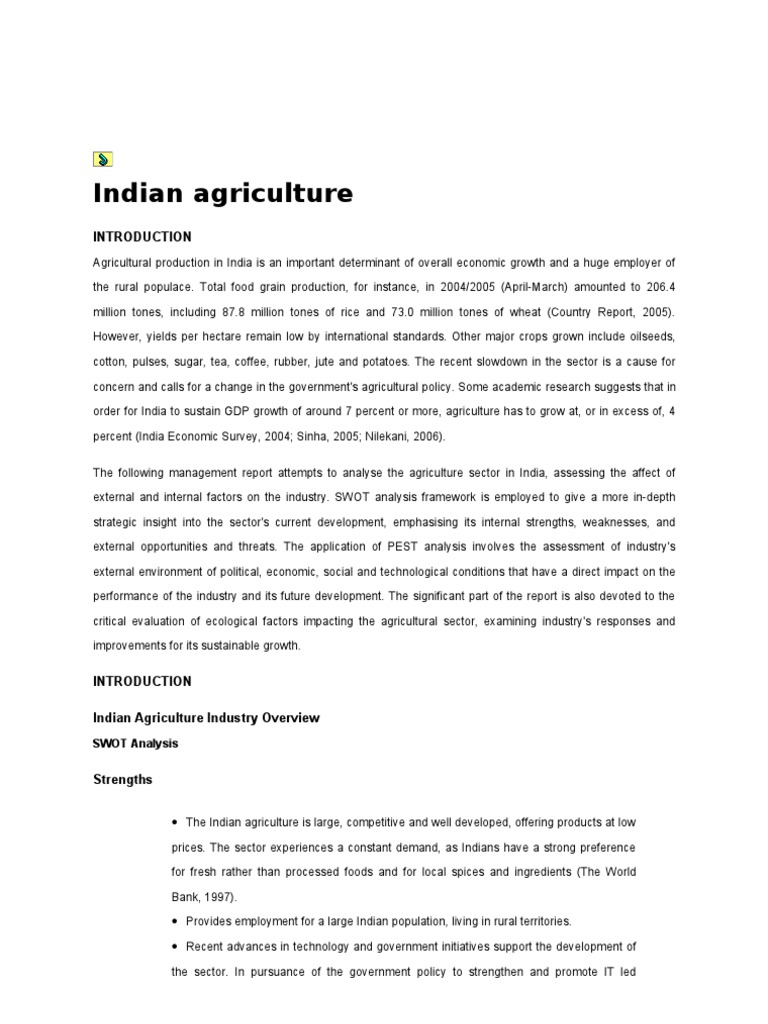 swot analysis of agriculture of green revolution  29809038 swot analysis of agriculture of green revolution agriculture