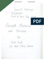 Aircraft Material- Aluminum- Copper- Titanium- Hani Aziz Ameen