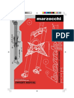 Marzocchi DJ 2002 Manual