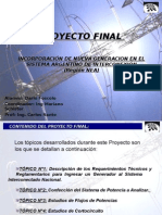 Presentacion - Flujo de Potencia Nueva Generacion NEA Argentino