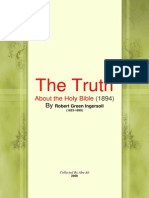 The Truth About the Bible (1894) by Robert Green Ingersoll