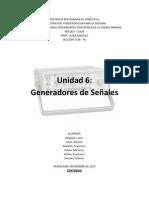 generadores de señales. instrumentacion. marine larez
