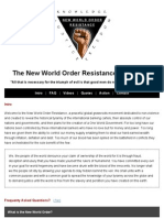 The New World Order Resistance