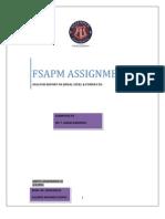 Fsapm Assignment