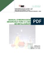 Apostila Manual de Seguranca Metalografia