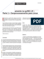 01 Georreferenciamento No Gvsig 1 9 Parte 1 Geoprocessamento Para Linux