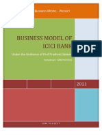 ICICI Business Model and Innovation
