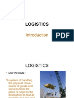 Logistics Ppt