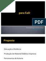 Produção de Material Didático para EaD
