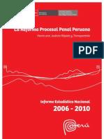 Reforma Procesal Penal Peruana 2006-2010