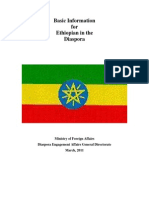 All Basic Information for Ethiopian Diaspora