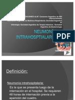 Neumonía intrahosptialaria