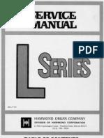 Hammond l 100 Series Service Manual